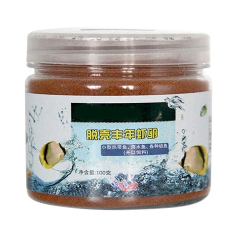 Inglete de Artemia para pescado pequeño de 50/100/150g, pollo, camarón, comida saludable en el océano para peces tropicales, alimento para peces Tnak