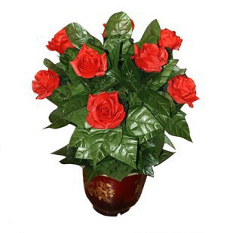 Pilot zdalnego sterowania Rose Bloom 20 doniczkowe kwiaty otwarte automatyczne magiczne sztuczki