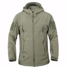 Мужская тактическая куртка TAD V5.0, водонепроницаемая ветрозащитная куртка с мягкой оболочкой в виде акулы