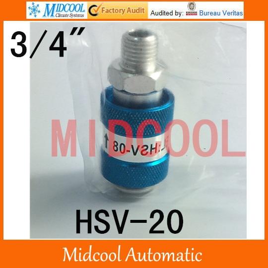 HSV-20 slide switch, hand slide valve port  3/4