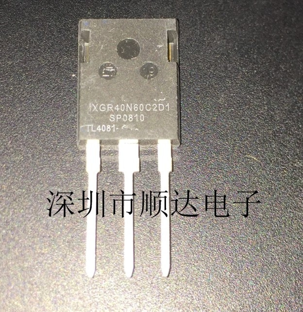 10 шт./лот IXGR40N60C2D1 IXGR40N60 40N60C2D1 TO-3P в наличии