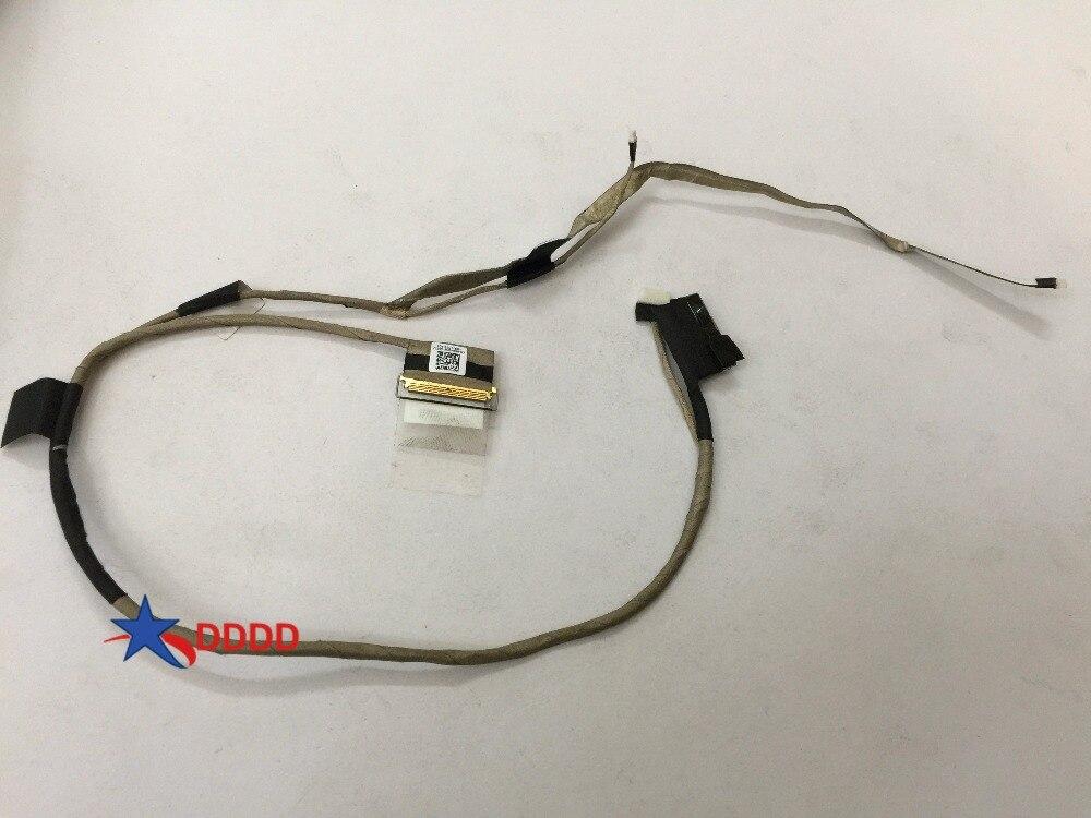 Câble vidéo dorigine pour écran LCD pour Dell E6540 VALA0 40pin DC02C004400 06G4WW 6G4WW CN-06G4WW entièrement testé