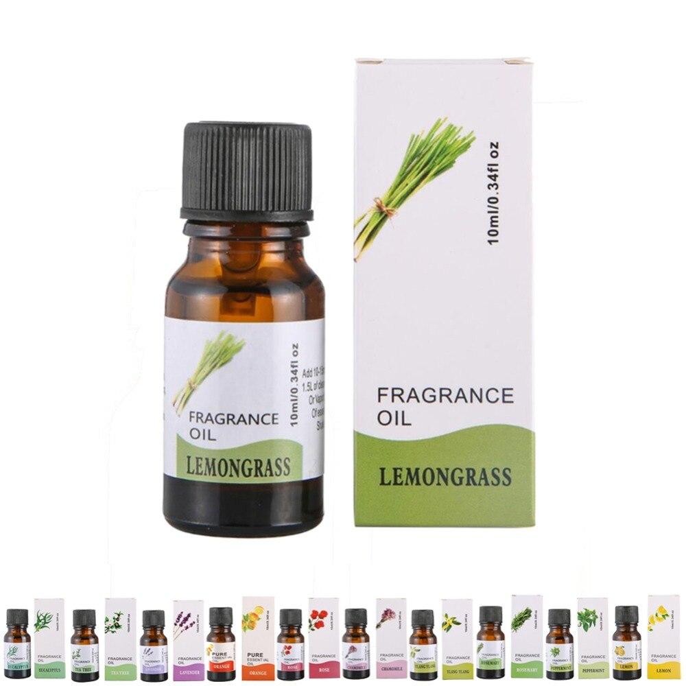 10 pièces huile essentielle Parfum aromathérapie naturel Parfum romarin géranium Eucalyptus Ylang Relax diffuseur brûleur Parfum 10ml
