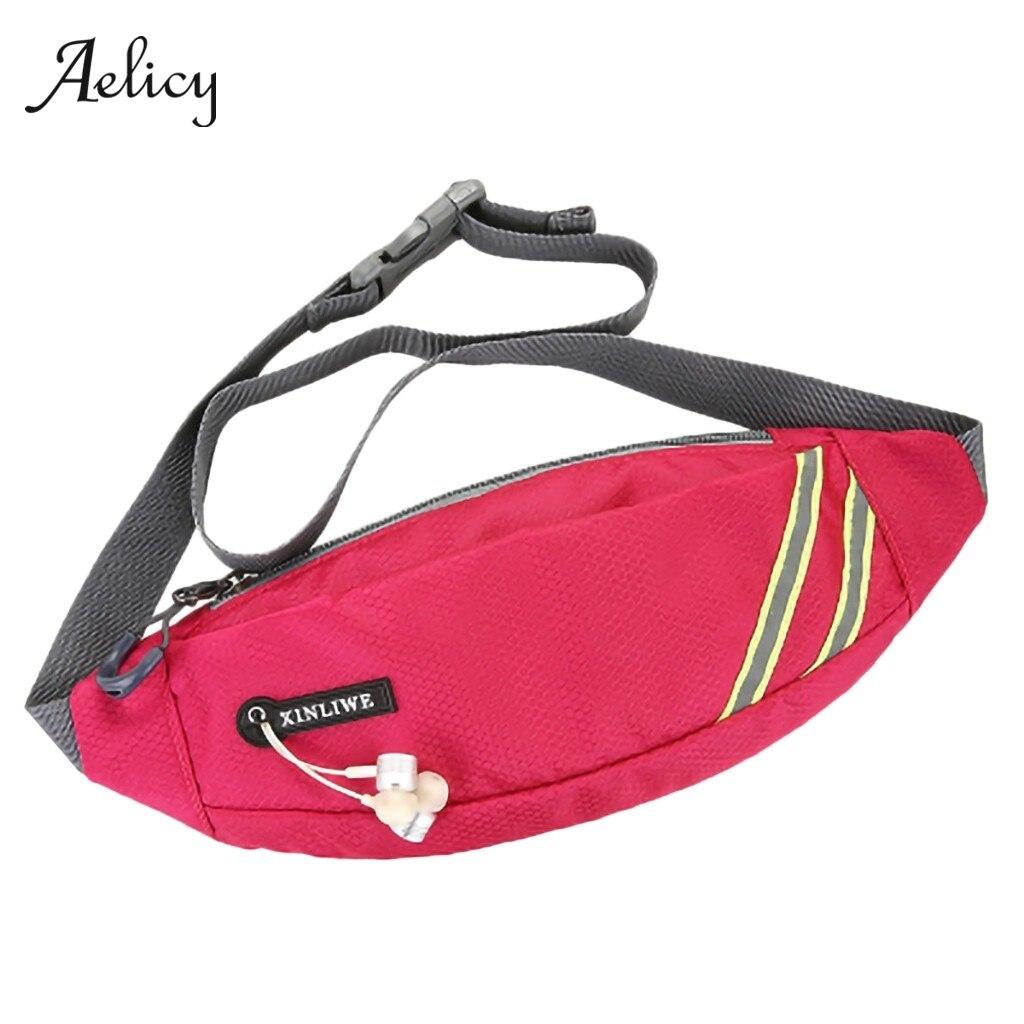 Aelicy Мужская и Женская поясная сумка для бега спортивная велоспорта путешествий