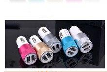 Estilo de coche 2 USB cargador de coche de salida para BMW MINI COOPER R50 R52 R53 R55 R56 R57 R58 R59 R60 R61 R62 Accesorios
