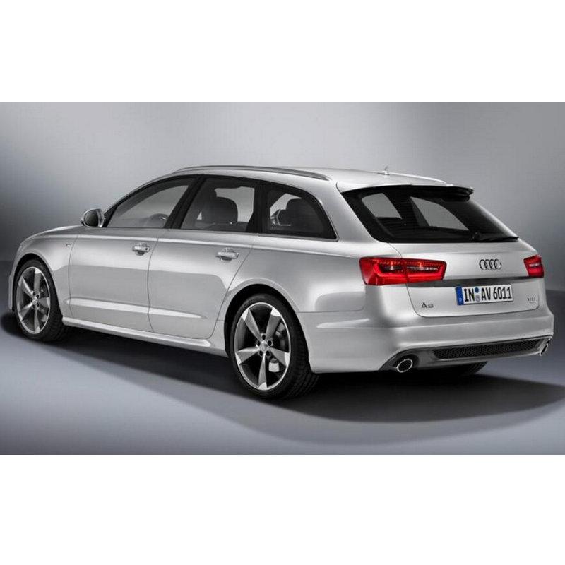Bombilla de señal de giro trasera europea para Audi A6 c5 c6 c7 Allroad, luces indicadoras Avant ámbar ba15s bau15s canbus 2 piezas