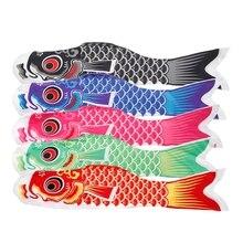 70cm Koi Nobori Karper Wind Sokken Koinobori Kleurrijke Vis Vlag Opknoping Muur Decor