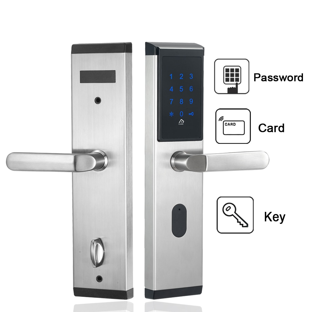 Дверной замок с электронной клавиатурой, из нержавеющей стали, 304