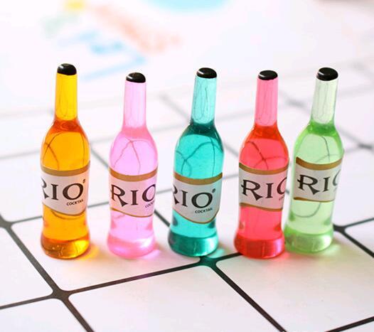 6 teile/los Mini trinken Puppenhaus Miniatur Trinken Spielen lebensmittel Puppe Haus Küche für blyth, Barbies, BJD, 1/6 puppe Spielzeug