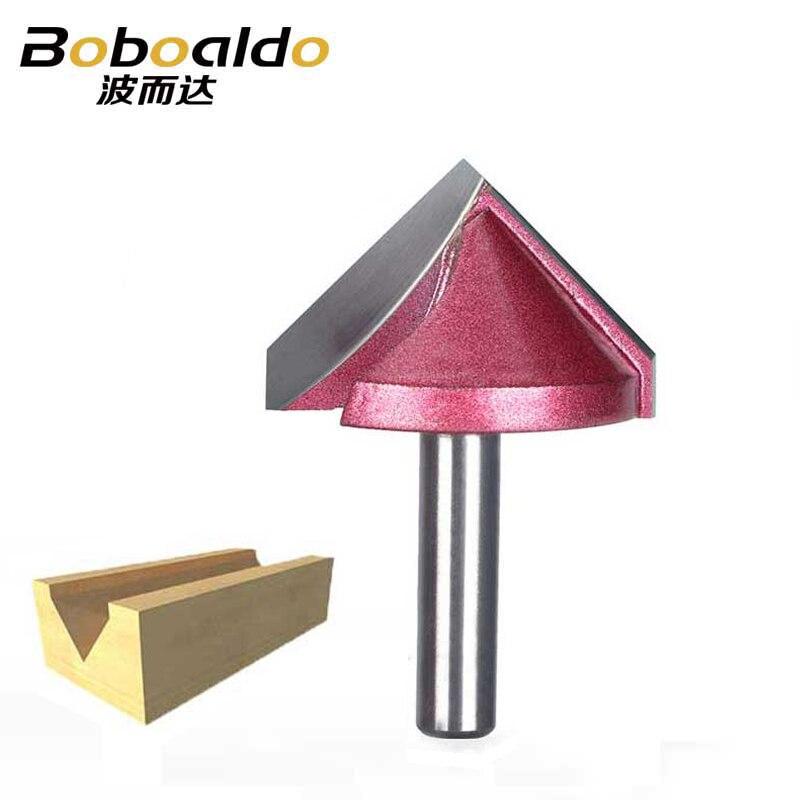 8 мм хвостовик V паз бит CNC твердосплавная фреза 3D фреза древесины 60 90 120 150 градусов Вольфрам деревообрабатывающий фреза