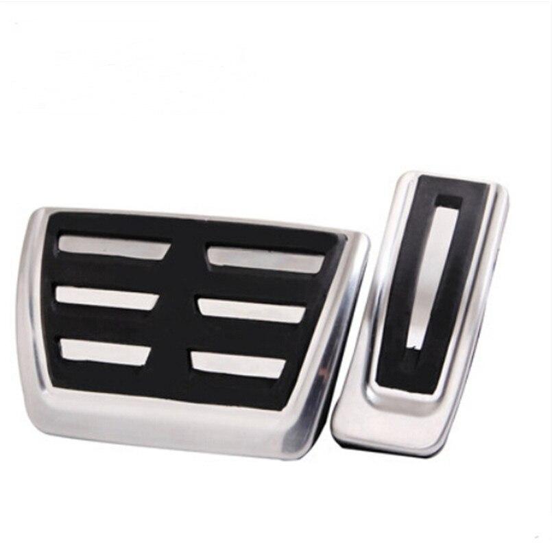 Auto styling Sport Kraftstoff Bremse Fußstütze Pedal AT Für Audi A4 A4L A6L A7 S7 A8 S4 RS4, a5 S5 RS5 8 T, Q5 SQ5 8R RHD, auto zubehör