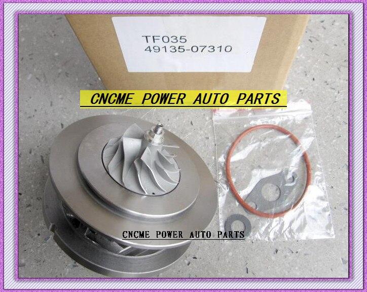 HYUNDAI-cartouche de TURBO CHRA TF035 49135-07310 28231-27810 49135-07311   Turbocompresseur, Santa Fe 2005-09 D4EB 2.2L CRDi 150HP