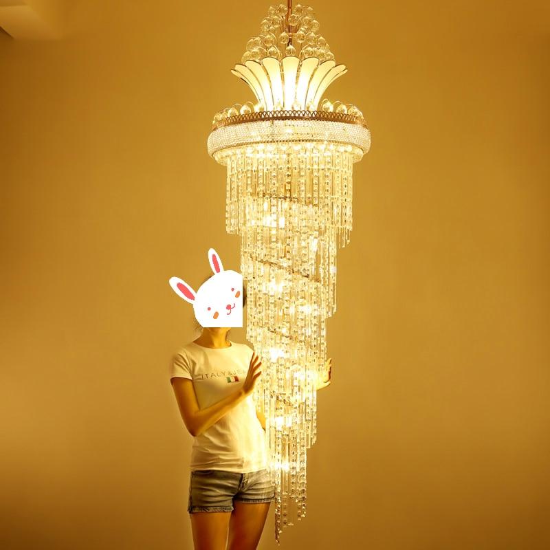 الحديثة كريستال الثريا الأمريكية الذهب الثريات تركيبة إضاءة الدافئة الأبيض محايد الأبيض كول الأبيض 3 ألوان عكس الضوء