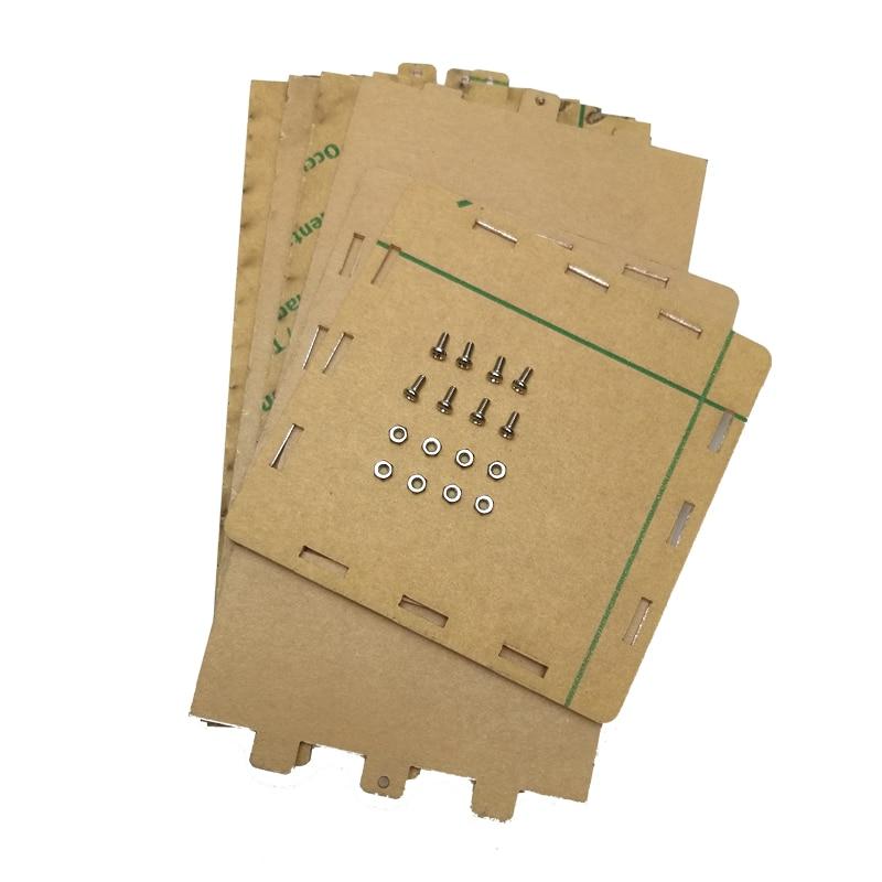Colarful LED bola cúbica creativa carcasa de acrílico (Caja)