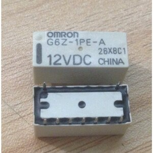 wholesale   10pcs/lot   relay   G6Z-1PE-A 12VDC
