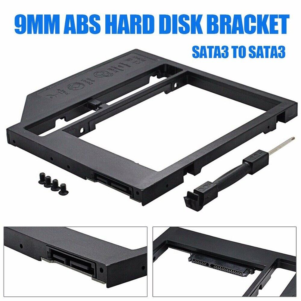 Новый 2 й SATA второй HDD Caddy для 5 &quotHDD SSD 9 0 мм Корпус ноутбука CD rom аксессуары|Жёсткие