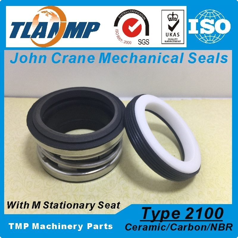 Type 2100-1-18 , TJ-0180 , T2100-18 , 2100-18 (L3) John Crane Elastomer Bellows Mechanical Seals (MaterialCarbon/Ceramic/NBR)