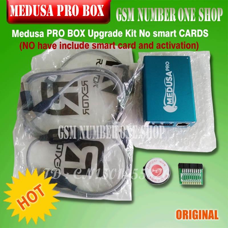 Kit de actualización Envío Gratis-100% original de Medusa PRO BOX sin tarjetas inteligentes (No incluye tarjeta inteligente y activación)