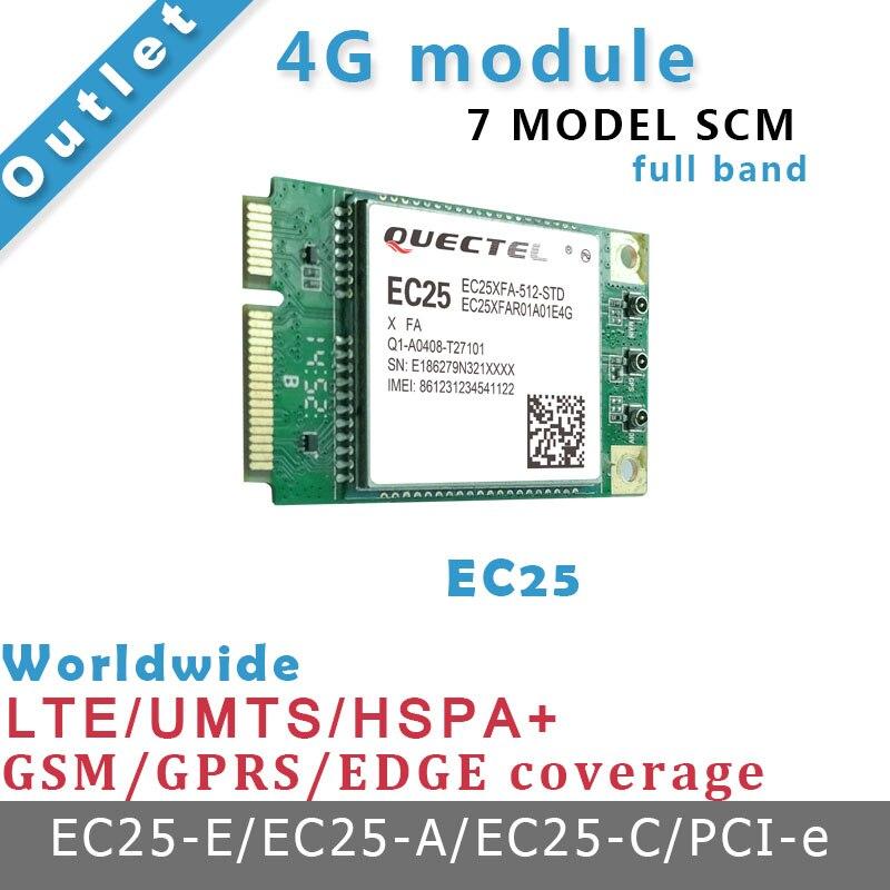 Quectel-لوحة تطوير EC25 4G ، مسار شبكة ، واجهة PCIE ، 7 نماذج SCM ، تعمل مع cubieAIO A20 ، لوحة تجريبية
