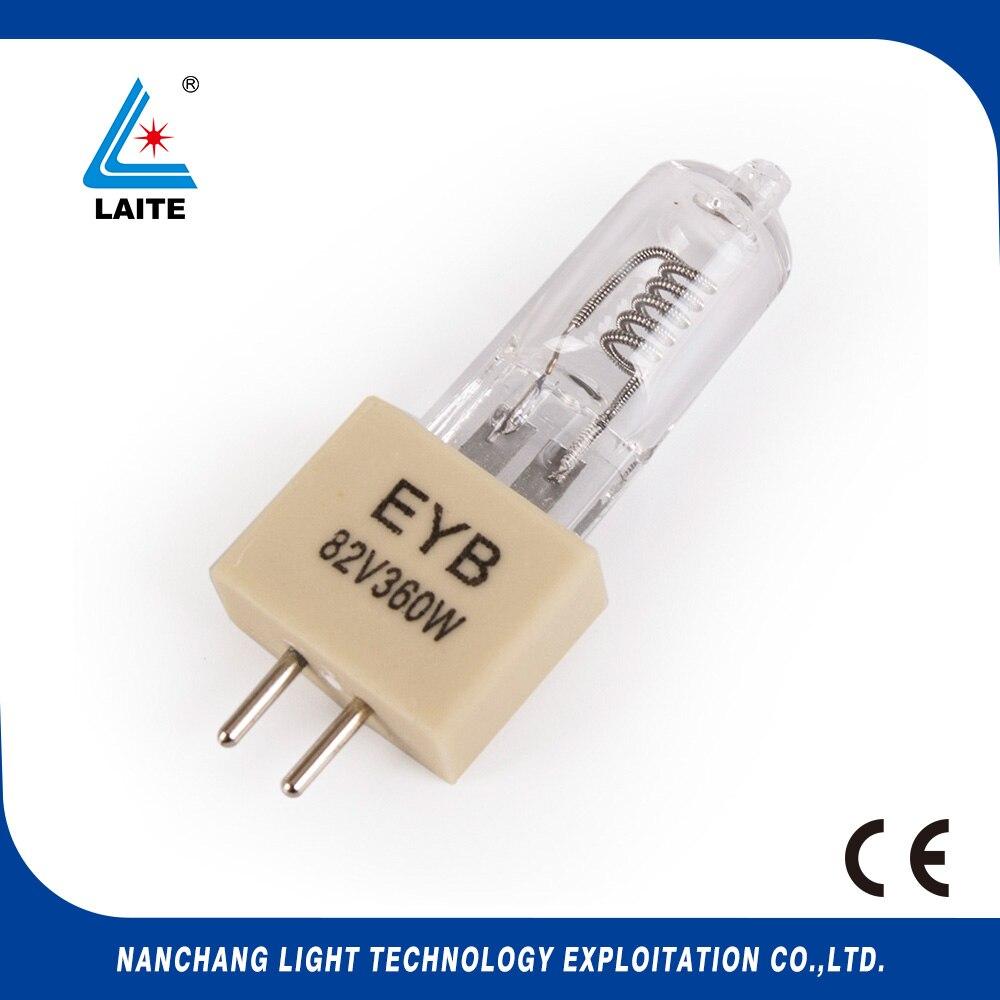 halogen bulb 82V 360W G5.3 EYB 360W 82V G5.3 projection bulb free shipping-10pcs