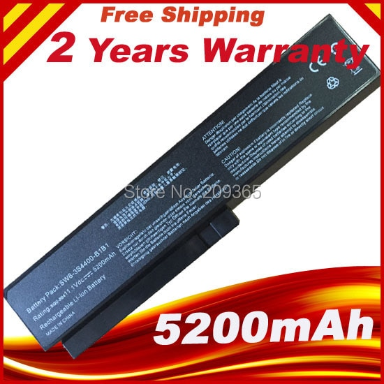 Аккумулятор 5200 мАч для ноутбука LG R410 R510 R560 SQU-804/805 SQU 807 SW8-3S4400-B1B1 3UR18650-2-T0144 3UR18650-2-T0188, бесплатная доставка