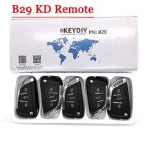 Envío gratis (5 unids/lote) Nuevo Modelo KD900 KD900 + URG200 KD-X2 generador de llaves serie B remoto B29 3 botones Universal KD remoto