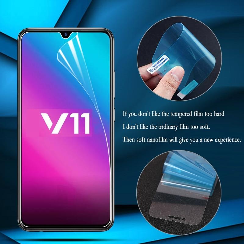 2 uds Nano película a prueba de explosiones para Vivo X9S X9 X20 X7 Plus X23 X21 X20 Z6 S6 Protector de pantalla Vivo Nex película protectora no de vidrio