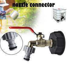 Manguera para tanque de agua 1000L IBC 1/2, accesorios adaptadores con conector para jardín, riego, riego, herramienta de conexión de tubo #20