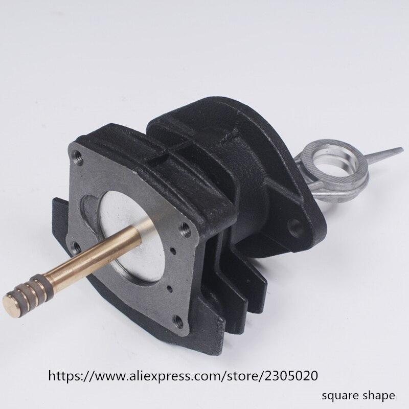 PCP воздушный компрессор квадратной формы, цилиндр с толкаемыми стержнями, совпадают с 4 кольцами, поршенями и соединительными стержнями, набор бумажных прокладок/партия