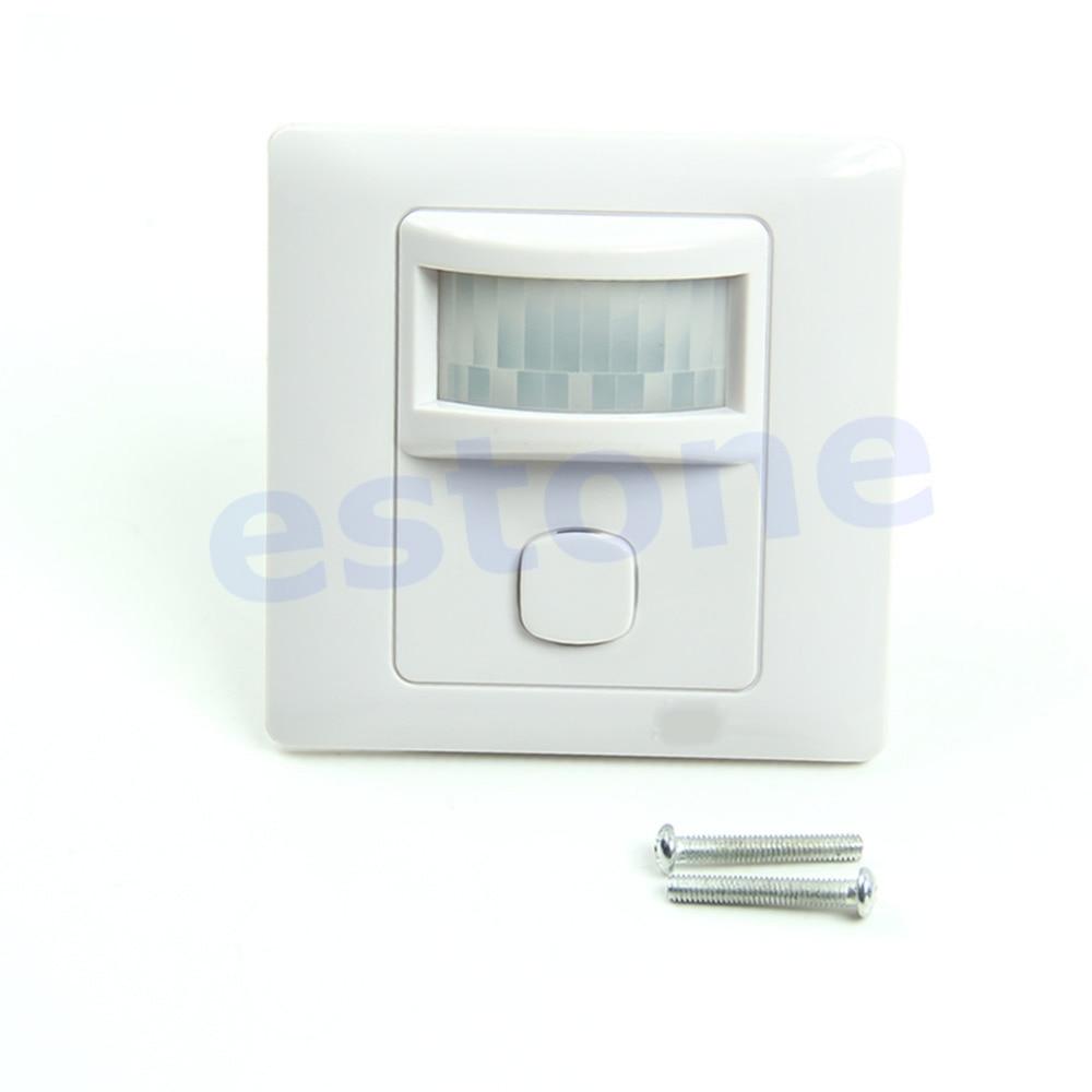 Os presentes agradáveis chegam novos ir infravermelho sensor de movimento automático on-fora interruptor de luz da lâmpada 200 v-250 v ac TDL-2180J