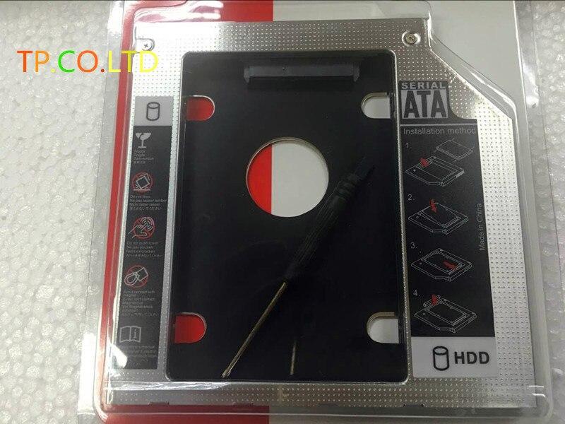 9,5 мм 2-й жесткий диск HDD SSD корпус кадра адаптер для Dell Insipiron 14 3421 15 3541 3542 3543 3545 3567 DU-8A5LH