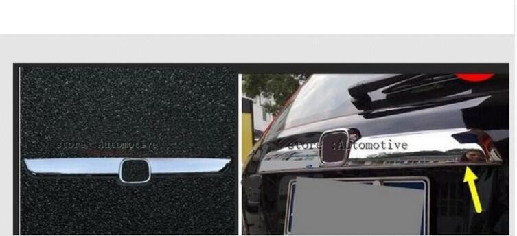 1 шт. для Honda CRV CR-V 20072008 2009 хромированная Задняя Крышка багажника Накладка
