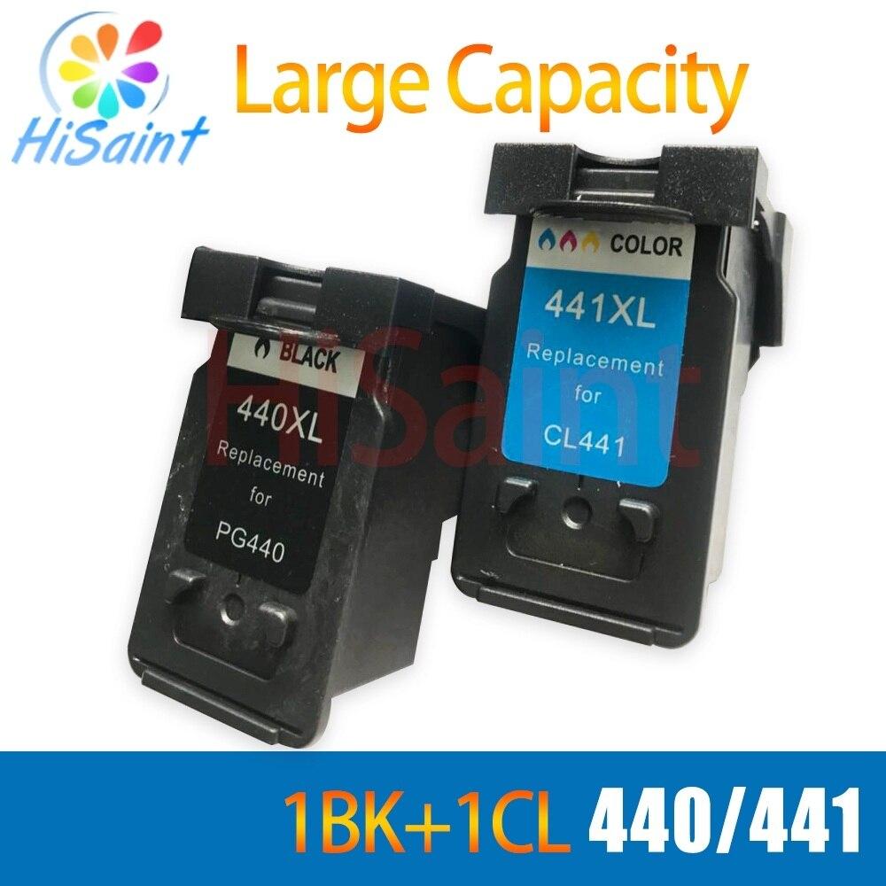 Compatível para Canon PG 440 CL 441 PG-440 hisaint CL-441 PG440 CL441 Tinta para PIXMA MX374 MX394 MX434 MX454 MX474 MX514 Impressora