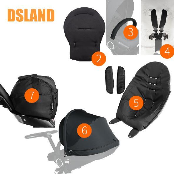 Se puede utilizar para dsland qibaer stok high landscape v3 v4, accesorio para cochecito y rueda delantera, rueda trasera