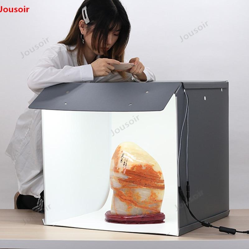 Neue SANOTO 56cm Foto Studio Box Fotografie Hintergrund tragbaren Softbox LED Licht Foto Box falten Foto Studio Weichen Box CD05 T03