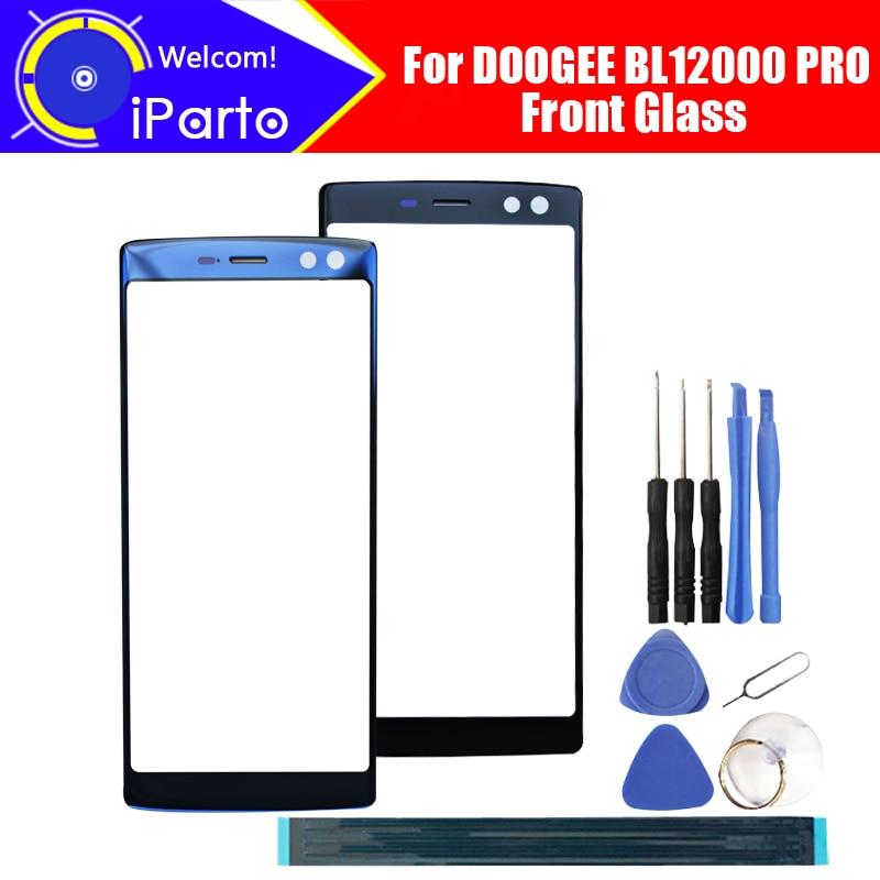 Para DOOGEE BL12000 PRO digitalizador pantalla táctil GARANTÍA DE 100% Panel de cristal Original pantalla táctil de cristal para BL12000 PRO + herramientas
