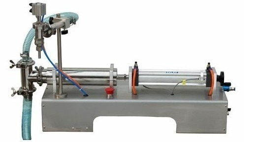 Free shipping, Bottle Liquid Filling Machine, Horizontal Type Liquid Filler 100-1000ml
