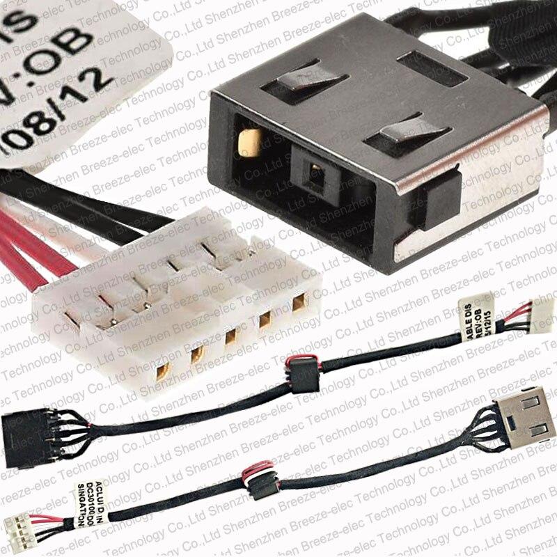 DC Power Jack conector hembra Cable para Lenovo IDEAPAD G40 G50 M50 Z40 Z50 Z50-30 G50-30 G50-40 45 50 70 80 DC31100LD00 LG00