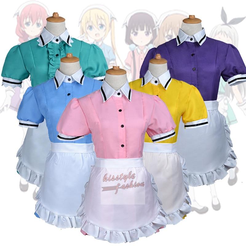 Mezcla S Maika Kaho Hinata Mafuyu Hoshikawa Miu Amano Hideri chica dama vestido de fiesta Cosplay traje de 2XS-3XL personalizado aceptado