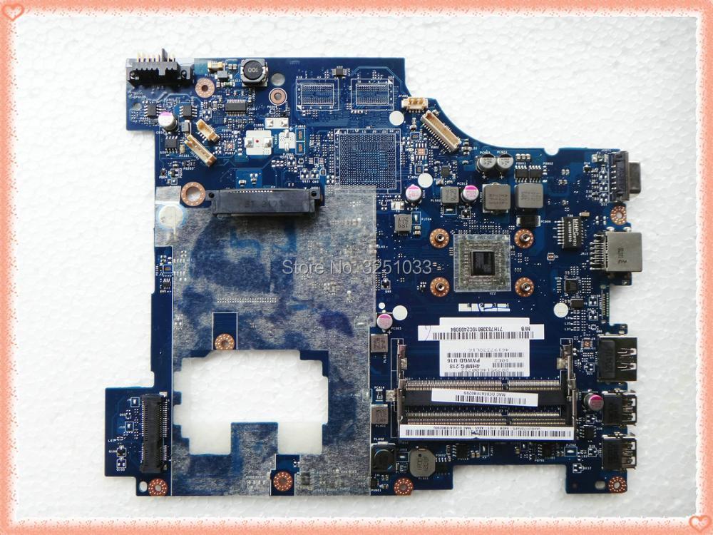 لينوفو G575 دفتر PAWGD LA-6757P اللوحة المحمول G575GX دفتر DDR3 اختبارها بشكل كامل شحن مجاني