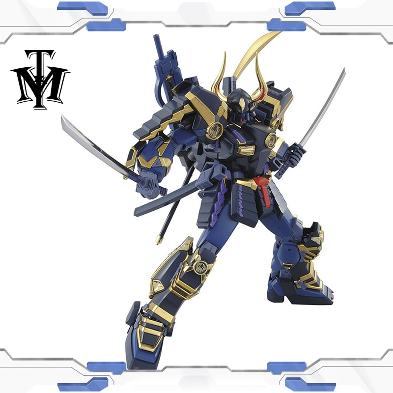 Japão hobby 1/100 verdadeira dinastia guerreiros gundam musha MK-II modelo puzzle montado robô menino anime figura de ação brinquedo presente gunpla