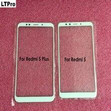 LTPro nuevo Cristal frontal de la Lente de la pantalla superior exterior para Xiaomi Redmi 5/Redmi 5 Plus/Note 5/Mi6X/Note 6 pro Panel de pantalla LCD