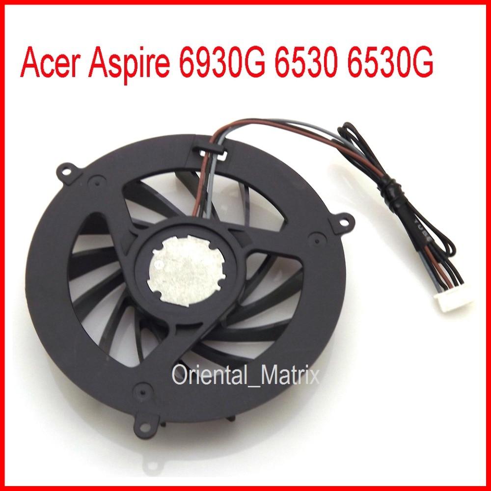 Envío Gratis nuevo ventilador de refrigeración de la CPU del ordenador portátil Acer Aspire 6930G 6530G 6530G