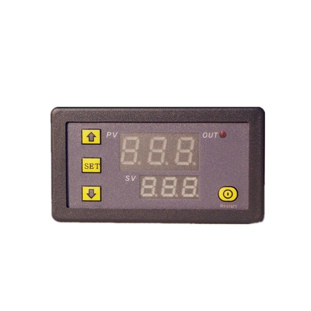 Relé de retardo del ciclo de sincronización del relé del tiempo de la pantalla Digital 5V12V24V