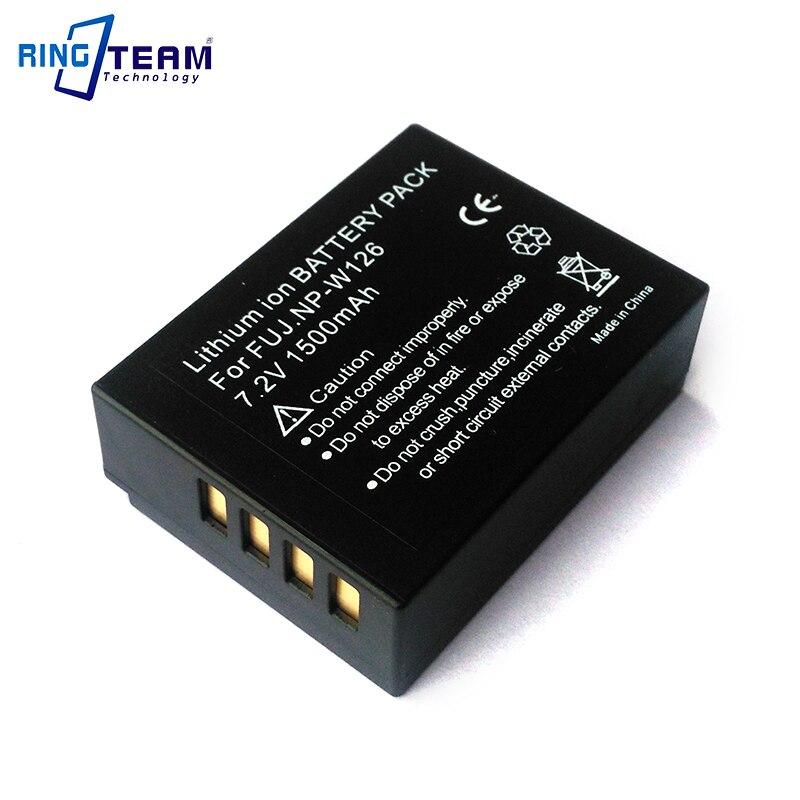 2 uds NP-W126 NPW126 batería para Fujifilm cámara FinePix HS30EXR HS33EXR X-Pro1 X-E1 X-E2 X-M1 X-A1 X-A2 X-T1 X-T10 X-T20 X-T30