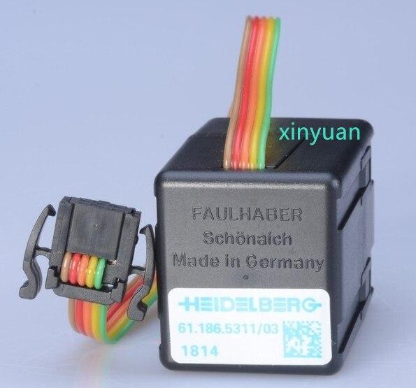 10 шт. чернильный редукторный двигатель, 3050L012S ,61.186.5311, запчасти для офсетной печатной машины
