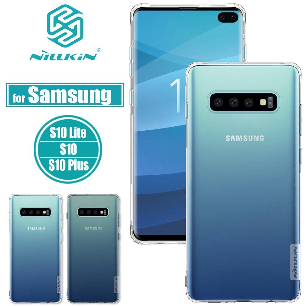 Nilkin для Samsung Galaxy S10 Plus, чехол, Nillkin, Мягкий силикон, TPU, прозрачный, чехол для Samsung S10 Lite