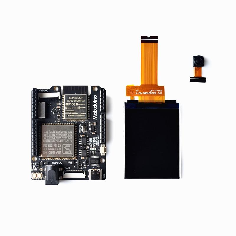 1 piezas Sipeed Maixduino AI desarrollo k210 RISC-V AI + mucho ESP32 Compatible con Arduino