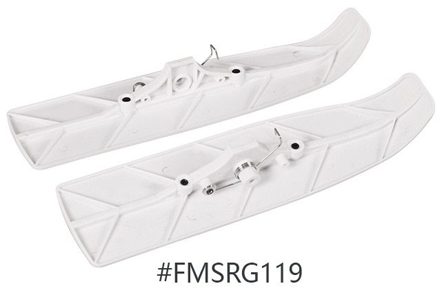 Esquí de avión acuático RC para FMS modelo Avión de mar 1400mm Kingfisher PNP FMS104