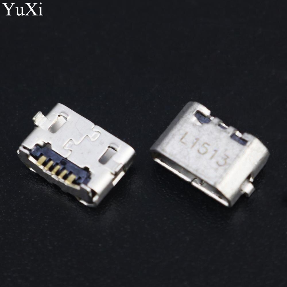 100pcs/lot For Huawei 4X 4X Y6 4A P8 C8817 P8 max P8 Lite 4C 3X Pro G750-T20 micro USB Charging Port Connector Plug Jack Socket